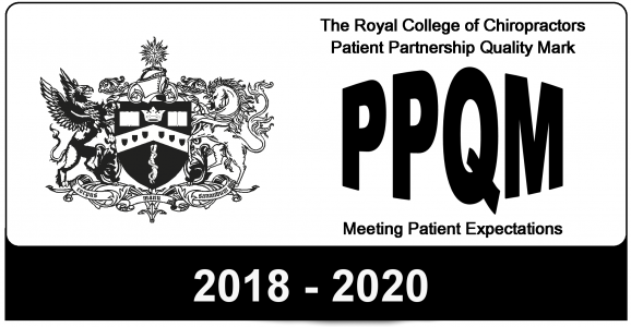 ppqm, quality marks, awards, royal college of chiropractors, rcc