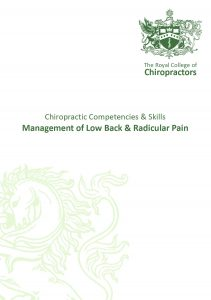 Chiropractic skills and competencies in LBR pain thumb