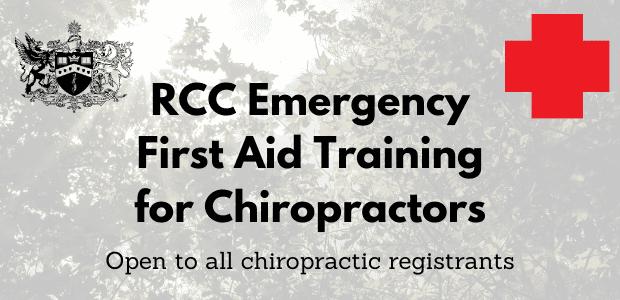 RCC First Aid Courses