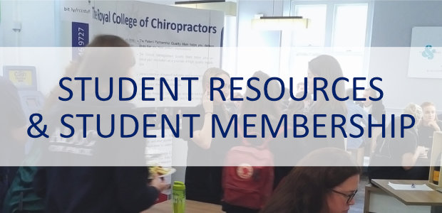 student, membership, resources, royal college of chiropractors